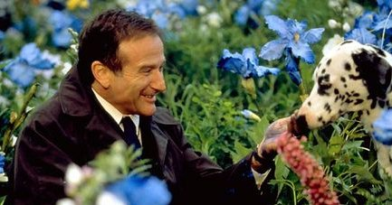 Robin Williams in What Dreams May Come. RIP.