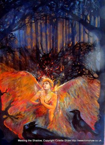 Art work by Colette Kim Shaw.